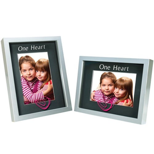 Silver Frame with Black Mat 4 x 6 Shadow Box Frame
