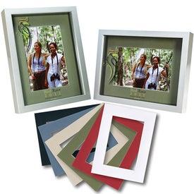 Monogrammed 4 x 6 Shadow Box Frame