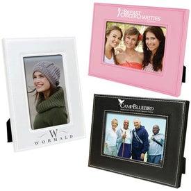 Promotional 4 x 6 White Stitch Frame