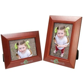 4 x 6 Wood Frame with Your Logo