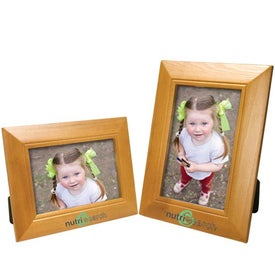 4 x 6 Wood Frame with Your Slogan