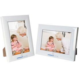 4 x 6 Plastic Color Burst Frame for Advertising