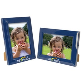 4 x 6 Plastic Color Burst Frame Giveaways