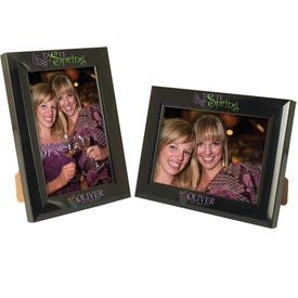 Branded 4 x 6 Plastic Color Burst Frame