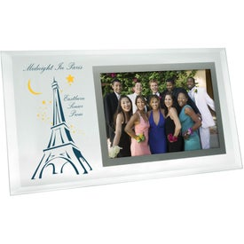 "4"" x 6"" Horizontal Beveled Glass Photo Frame"