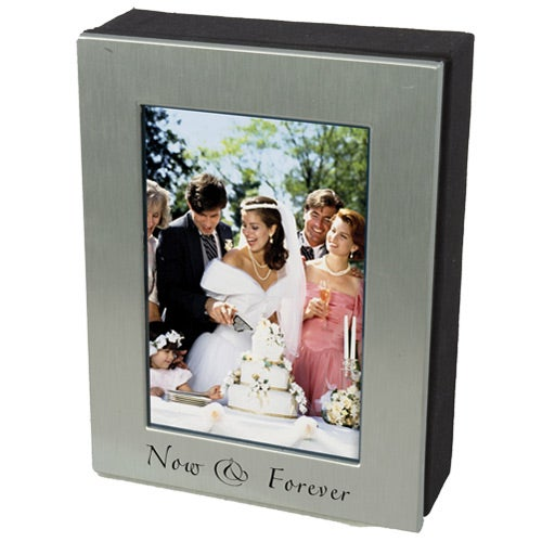 4 x 6 Silver Photo Frame Box