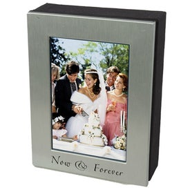 4 x 6 Silver Photo Frame Box