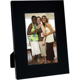 "4"" x 6"" Colorful Brushed Aluminum Frame for Your Company"