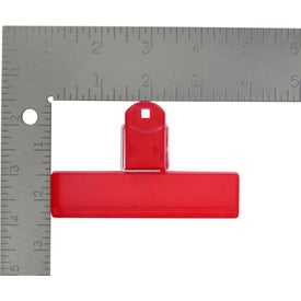 """4"""" Bag Clip for Your Organization"""