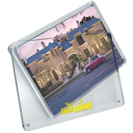 Magnetic Clear Acrylic Photo Frame Branded with Your Logo