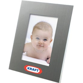 Brushed Silver Metal Frame (4 In. x 6 In.)