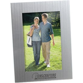 Logo Brusher Silver Metal Frame