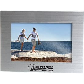 Brusher Silver Metal Frame (4 In. x 6 In.)
