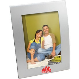 Curved Matte Finish Metal Picture Frame (4 In. x 6 In.)