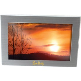 Silver Metal Picture Frame for Your Organization