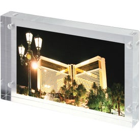 "Advertising 4"" x 6"" Frameless Frame"