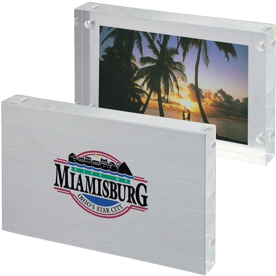Promotional 4 X 6 Frameless Frames With Custom Logo For 964 Ea