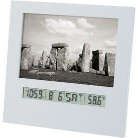 "4"" x 6"" Photo Frame Clock"