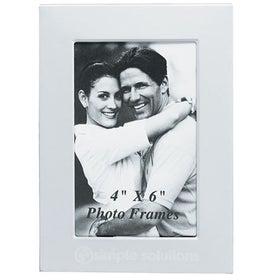 "4"" x 6"" Photo Frame with Your Slogan"
