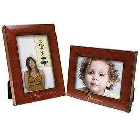 5 x 7 Faux Mahogany Frame for Your Church