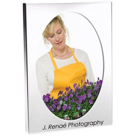 5 x 7 Oval Frame Branded with Your Logo