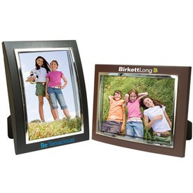 5 x 7 Plastic Curved Frame for Promotion