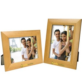 5 x 7 Wood Frame for Marketing