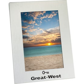 """5"""" x 7"""" Aluminum Frame with Your Logo"""
