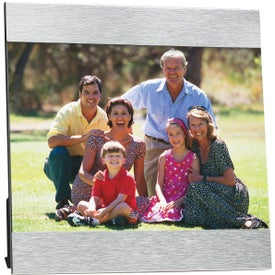 "5"" x 7"" Aluminum Photo Frame for Promotion"