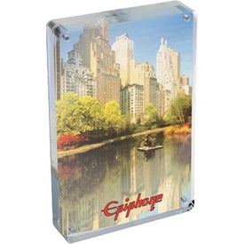 "Magnetic Clear Acrylic Photo Frame (7"" x 5"" x 0.75"")"