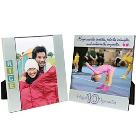 6 x 4 Aluminum Photo Frame for Your Company