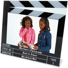 6 x 4 Clapboard Frame with Your Logo