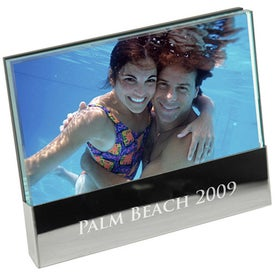 Branded 6 x 4 Glass Frame