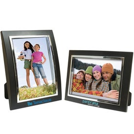 6 x 4 Plastic Curved Frame for Your Company