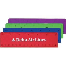 Plastic Beveled Rulers (6