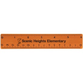Plastic Ruler with Your Slogan