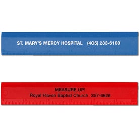 "Double Beveled Edge Ruler (6"")"