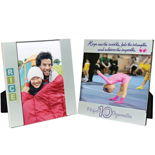 Silver 7 x 5 Aluminum Photo Frame