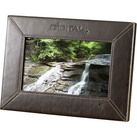 "7"" Leather Digital Photo Frame"
