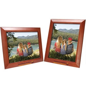 8 x 10 Wood Frame for Marketing