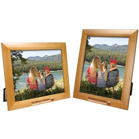 8 x 10 Wood Frame for Advertising