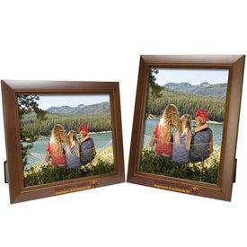 Branded 8 x 10 Wood Frame