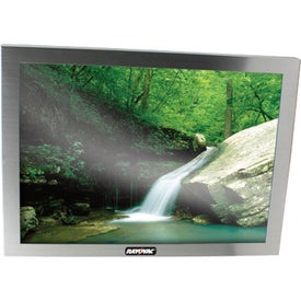 Silver Metal Picture Frame (8 In. x 10 In.)
