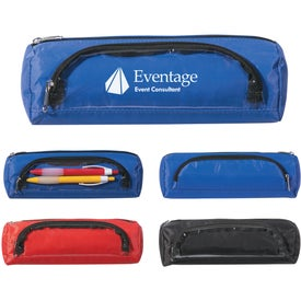 Imprinted Academic Zippered Pencil Case