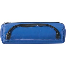 Academic Zippered Pencil Case Printed with Your Logo