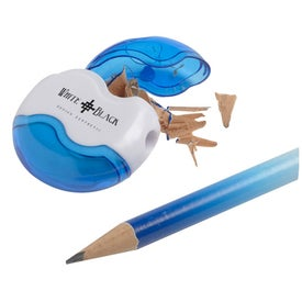 Advertising Achiever Pencil Sharpener and Eraser