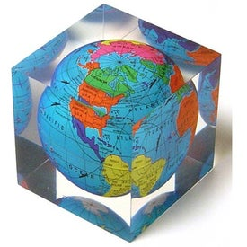 Acrylic Cube Paperweight Giveaways
