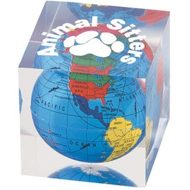 Acrylic Cube Paperweight