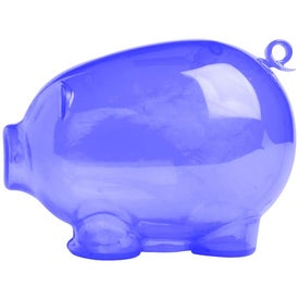 Action Piggy Bank Imprinted with Your Logo