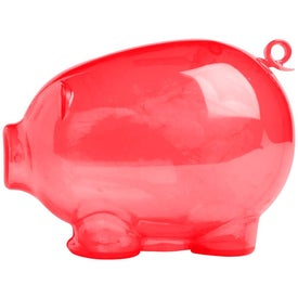 Monogrammed Action Piggy Bank